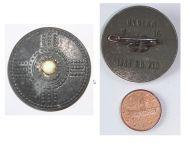 NAZI Germany WW2 German Proto Germanic Shield 1000 b.C. WHW Badge Tinnie Marked W16