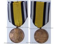 Germany Prussia Napoleonic Wars 1814 Campaigns Combatants Medal Round Arms Type
