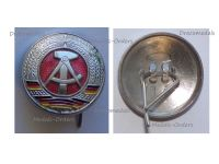 East Germany Cap Badge Cockade for Soldiers' Hat of the NVA National People's Army 1955 1990