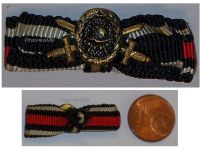Germany WW1 Iron Cross Hindenburg Wound Badge Medal Lapel pin boutonniere Military Medals 1914 German
