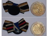 Germany Prussia Ribbon Lapel Pin Boutonniere of 3 Medals: Koniggratz Cross 1866, Franco Prussian War Medal 1870, Long Service Decoration 2nd Class by CW & Co Solide