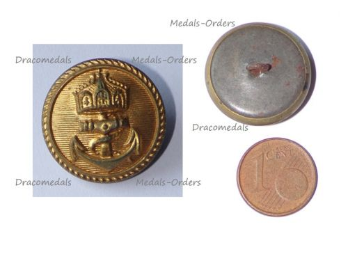 Germany WW1 Imperial Navy Button