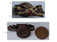Germany WW1 Lapel Pin Boutonniere Hindenburg Cross with Swords for Combatants Marked Solide Elegant
