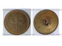 Germany WW1 German Prussian Army Large Tunic Button with the Imperial Eagle by Paul Maywald