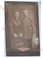 Germany Prussia WW1 Photograph NCO Grenadier Guard Kaiserin Augusta Regiment N.4 with Iron Cross 2nd Class Ribbon