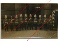 Germany Prussia WW1 Photograph NCO Grenadier Guards Squad in Parade Kaiserin Augusta Regiment N.4 1900s