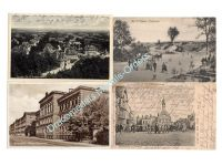 Germany WW1 4 Postcards 2nd Bavarian Infantry Division Field Post Photograph 1914 1918 Great War WWI Weimar Republic