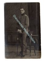 Germany WW1 Photo Officer Sword Portapee Iron Cross Medal Bar Photograph Prussia 1914 1918 Great War