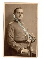 Germany WW1 Photo Officer 11th Artillery Regiment Shoulder Straps Lion Head Sword Scabard Portapee Photograph 1914 1918 Great War