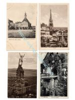 Germany WW1 4 Postcards Occupied France Jesus Saarburg Lille Bamberg Peronne Field Post Photograph 1914 1918 Great War WWI