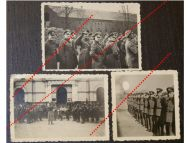 NAZI Germany WW2 3 photos photographs German Officers Army Military Music Band Wehrmacht WWII 1939 1945 Photograph