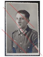 NAZI Germany WW2 photo German NCO Corporal portrait WWII 1939 1945 Wehrmacht photograph