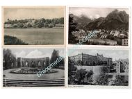 NAZI Germany WW2 4 postcards 1940 1943 Field Post Wehrmacht 1945