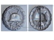 Germany WWI Silver Wound Badge Medal 1914 1918 Magnetic German Prussian Army Great War WWI Decoration