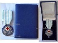 Greece Hellenic Red Cross Silver Medal 1924 Decoration Greek Interwar Asia Minor Campaign Boxed by Kelaides