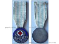 Greece Hellenic Red Cross Silver Medal 1924 Decoration Greek Interwar Asia Minor Campaign