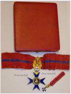 Military Hospitaller Order St Mary Bethlehem Commander's Cross Boxed WWI 1914 1918 Great War Maker Alberti