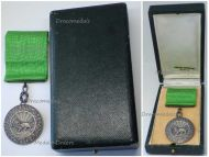 Imperial Order Sun Lion Homayoun Silver Medal Military Division 1925 1941 Decoration Boxed by Arthus Bertrand