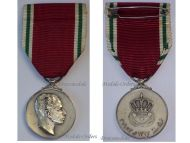 King Faisal II Medal Military Civil Commemorative 1953 CoronationDecoration Award Silver 925 Maker Huguenin Freres