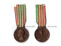 Italy WW1 Italian Unification Commemorative Medal for the War of 1915 1918 MINI