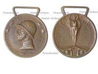 Italy WW1 Italian Unification Commemorative Medal for the War of 1915 1918 by Lorioli Castelli