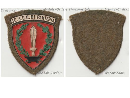 Italy Patch Infantry Academy of the Italian Army