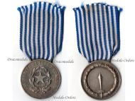 Italy Army Long Service Command Military Medal Silver 986 Decoration 15 years Italian Republic Mint 1953