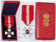 Italy WW1 Order Crown Knight's Cross Italian Decoration King Vittorio Emmanuele WWI 1914 1918 Great War