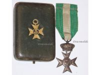 Italy WW1 Cross Crown Military Long Service XVI 40 years 1914 1918 Italian Medal Decoration King Vittorio Emmanuele Boxed