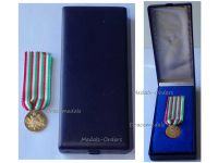 Italy WWI Gold 18k Military Medal 50th Anniversary Victory Great War 1918 1968 Italian Decoration WW1 1914 Boxed