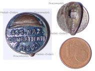 Italy WW1 Lapel Pin Italian National Association Combatants and Veterans 1923 Marked Reduci