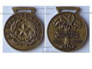 Italy WW2 Bronze Medal Civil Merit 1943 1944 to Colle San Magno for the Monte Cassino Battle