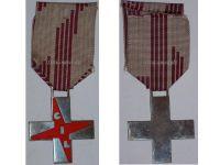 Italy WW2 Fascist Youth GIL Cross Red Military Medal Italian Kingdom Decoration Fascism Mussolini WWII Award
