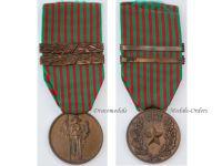 Italy WW2 Commemorative Military Medal 2 bars 1940 1943 Italian Republic WWII Decoration Fascism Mussolini