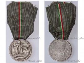 Italy WW2 Mothers Fallen KIA Military Medal Italian Republic Decoration WWII 1939 1945 Maker Lorioli