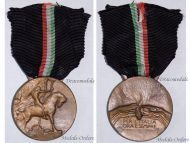 "Italy Italian Fighting League Fascist Campaign Medal 1919 1922 ""For Italy Now and Ever"""
