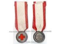 Italy WW2 Red Cross Nurses School Military Medal 1941 Italian Decoration WWII 1940 1945 Fascism Mussolin RSI Named