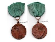 Italy WW2 5th Alpine Division Val Pusteria Military Medal Ethiopia 1935 1936 Italian Decoration Fascism Mussolini
