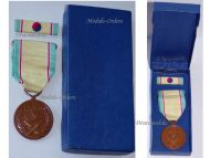 South Korea RoK Korean War Service Commemorative Medal 1950 1953 Boxed with Ribbon Bar