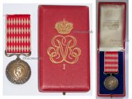 Monaco Medal Honor 1st Class Prince Rainier III Military Civil Merit Service Decoration