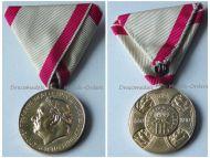 Montenegro Golden Jubilee Medal Reign King Nicholas I 1860 1910 Montenegrin Decoration Signed by Schwarz