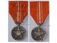 Morocco WW1 Dahir Medal Satisfaction Order Ouissam Alaouite Alaoui Moroccan Decoration Great War