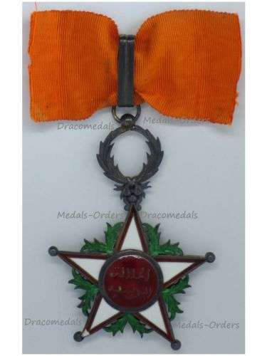 Morocco WW1 Royal Order of Ouissam Alaouite Commander's Star 2nd Type