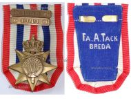 Netherlands WW2 Cross for the Order and Peace 1945 with 2 Bars 1948 1949