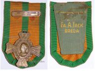 Netherlands WW2 Commemorative Cross Military Medal Clasp East Asia South Pacific 1942 1945 Decoration