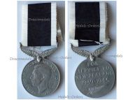 New Zealand WW2 War Service Commemorative Medal