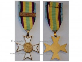 Belgium Poland WW2 Allied Cross Allies Clasp NWE North Western Europe Military Medal 1939 1945 Polish Decoration