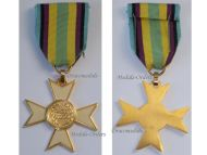 Belgium Poland WW2 Allied Cross Allies Military Medal WWII 1940 1945 Belgian Polish Decoration Award