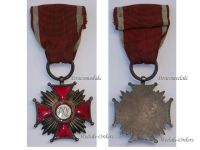 Poland Cross Merit PRL Silver Polish Military Civil Medal 1952 Communism People's Republic Decoration