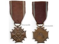 Poland Cross Merit PRL Bronze Polish Military Civil Medal 1952 1990 Communism People's Republic Decoration